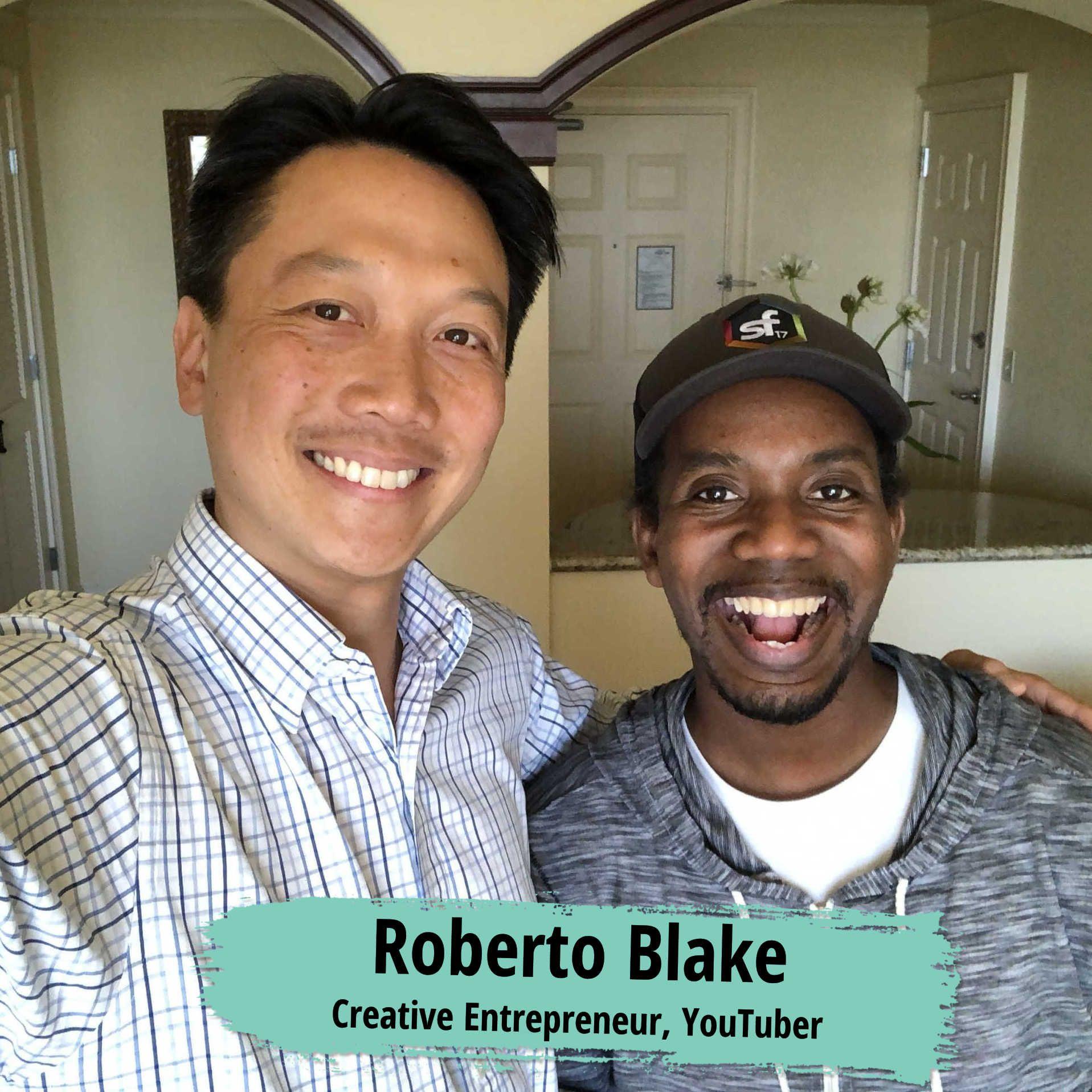 Youtuber Roberto Blake
