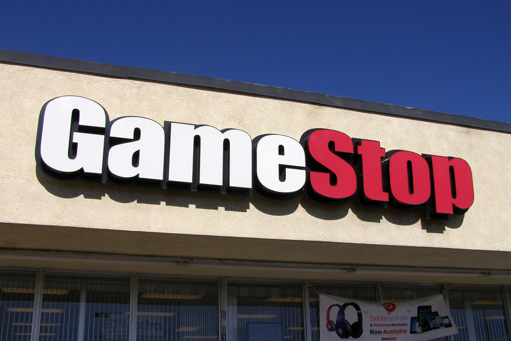 GameStop (GME) Goes to the Moon