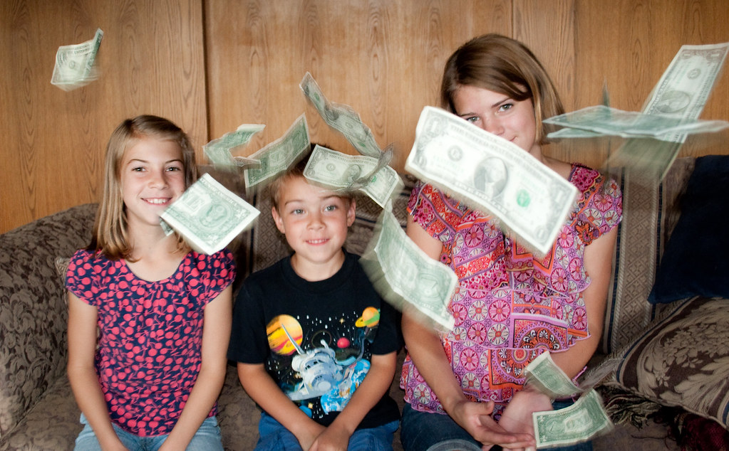 Tips and tricks to teach your children about money
