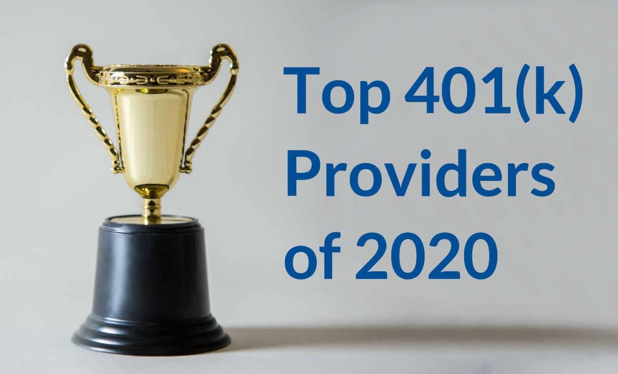 401K Providers: 2020 Top 10 Lists