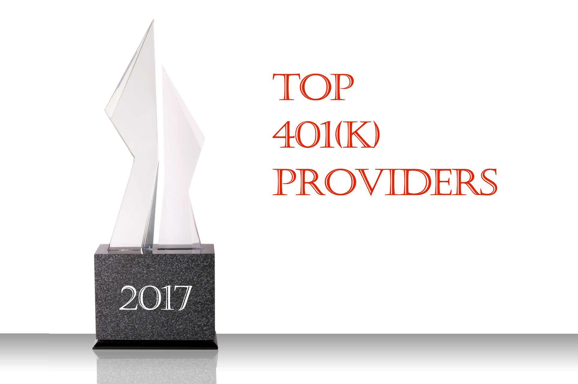 401K Providers: 2017 Top 10 Lists