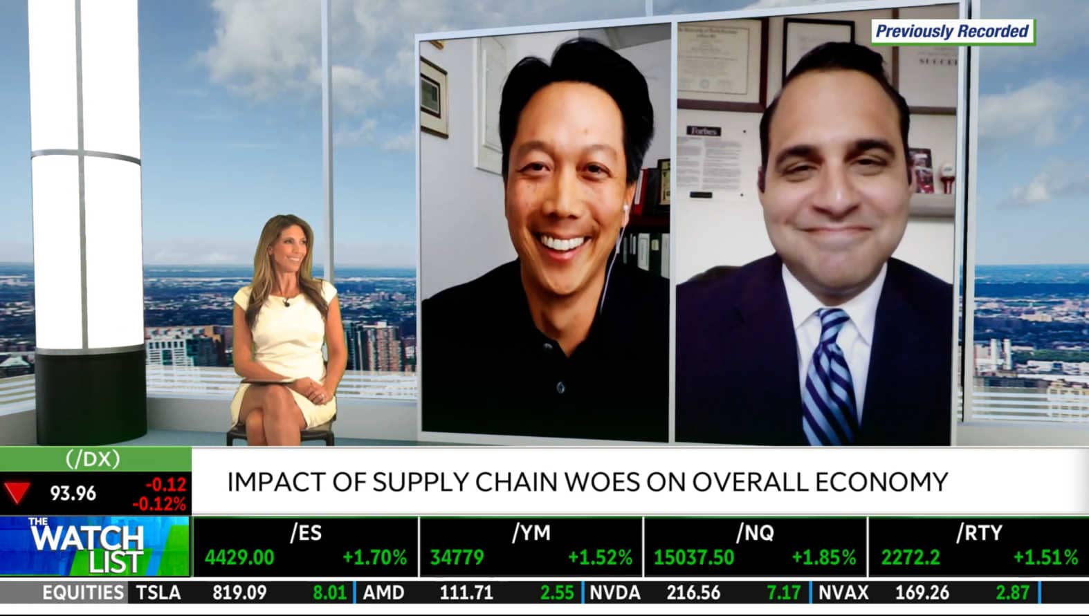 Andy Wang on The Watch List: Supply Chain Woes Impacting Holiday Shopping